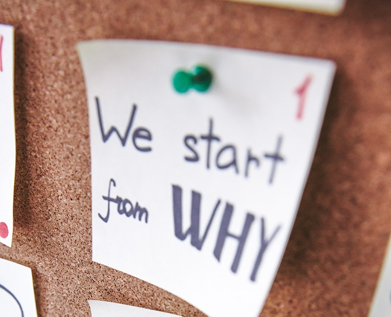 Behaviour change: Start with the 'why'